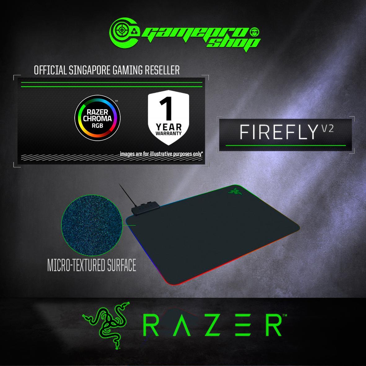 Razer Firefly V2 Gaming Mouse Mat