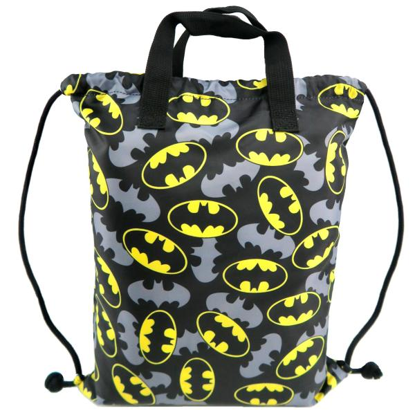 Drawstring Bag with Handle - Batman (DC Comics Justice League)