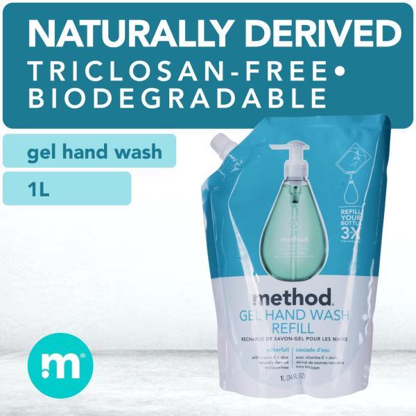 Buy method gel hand wash refill - waterfall 1L Singapore