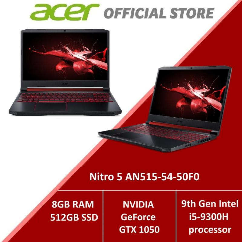 Acer Nitro 5 AN515-54-50F0 NEW gaming laptop with NVIDIA GeForce GTX 1050 Graphics