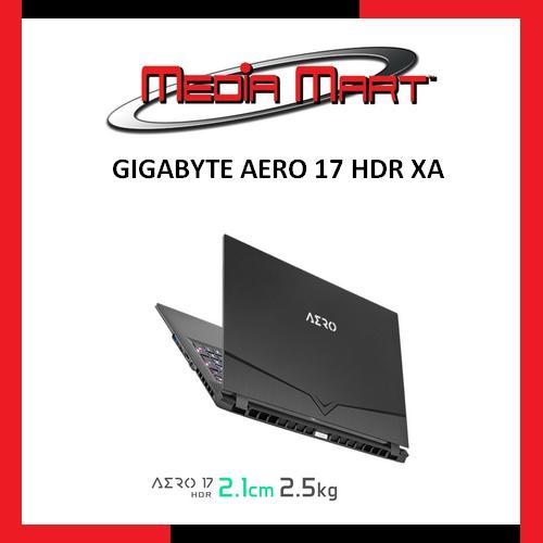 GIGABYTE AERO17 HDR XA
