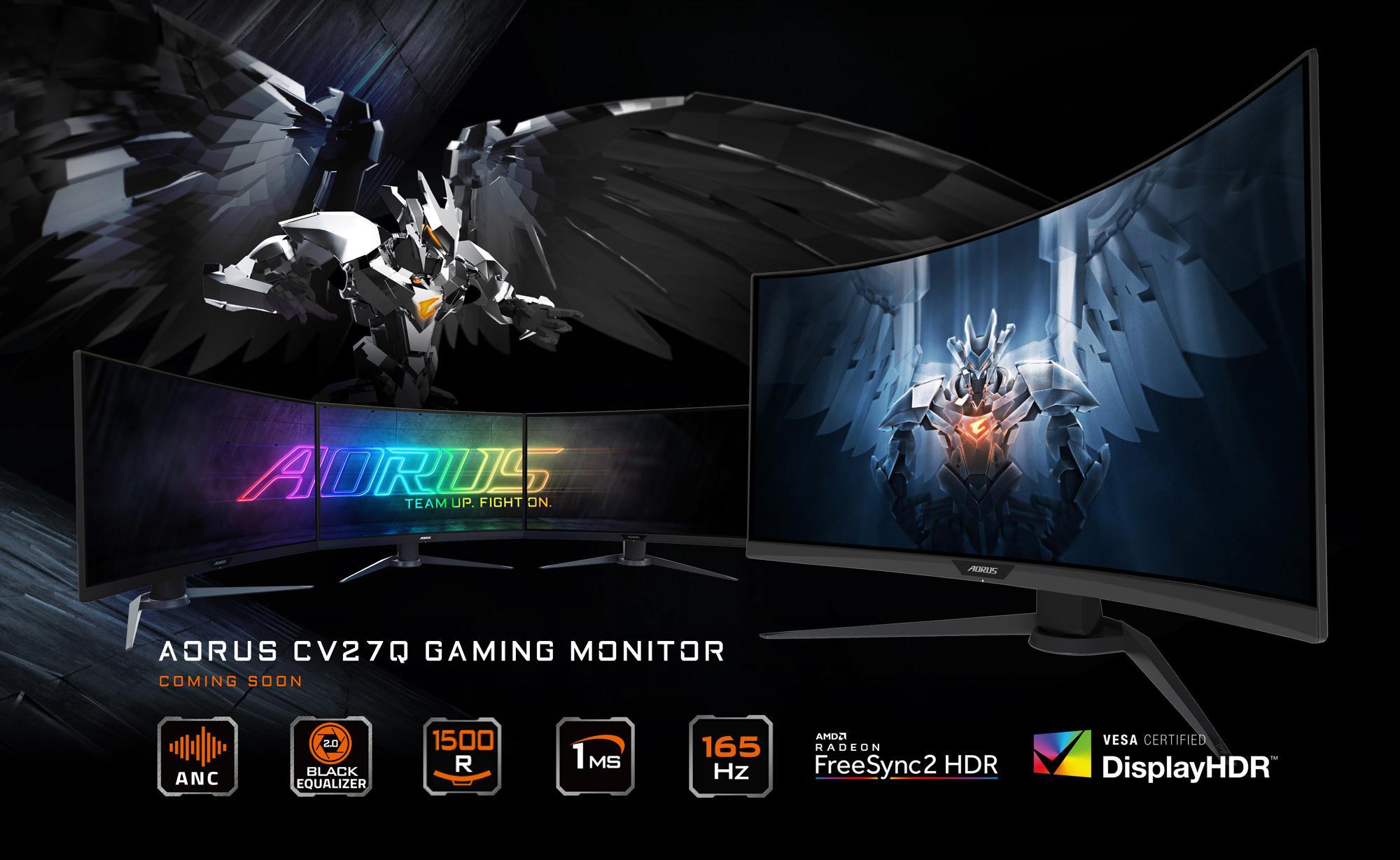 AORUS CV27Q Curved Gaming Monitor