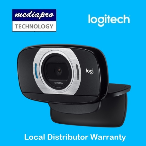 Logitech C615 HD Webcam Portable HD 1080p Video Calling with Autofocus, Built-in Mic - 2 Years Local Distributor Warranty