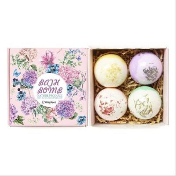 Buy Spa Bath Bomb Salt Sea Salt Bubble Bath Bombs Bath Ball Set Relaxation Shower Bath Fizzy BathBalls Bathbomb Handmade Spa Salts Organic 4 x100g Set Singapore