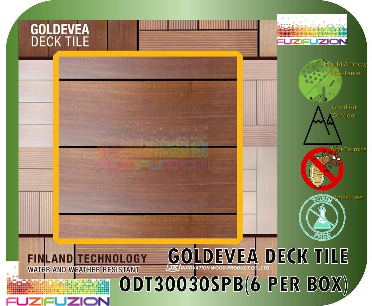 Goldevea Deck Tiles Plain Highway Pattern 6pcs (SPB)
