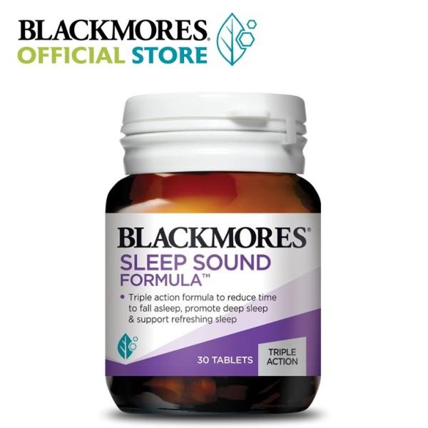 Buy Blackmores Sleep Sound Formula 30 tablets [Promote Deep Sleep and Wake Up Refreshed] Singapore
