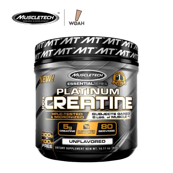 Buy MuscleTech Platinum 100% Creatine (400g) Singapore
