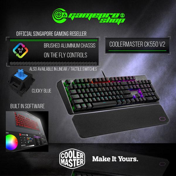 CoolerMaster CK550 V2 RGB Mechanical Gaming Keyboard  (2Y)