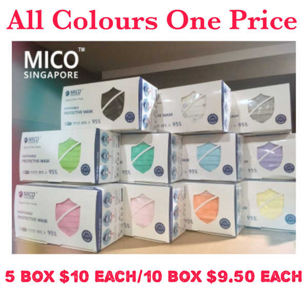 Buy Mico Mask 50pcs (Ready Stocks) Singapore