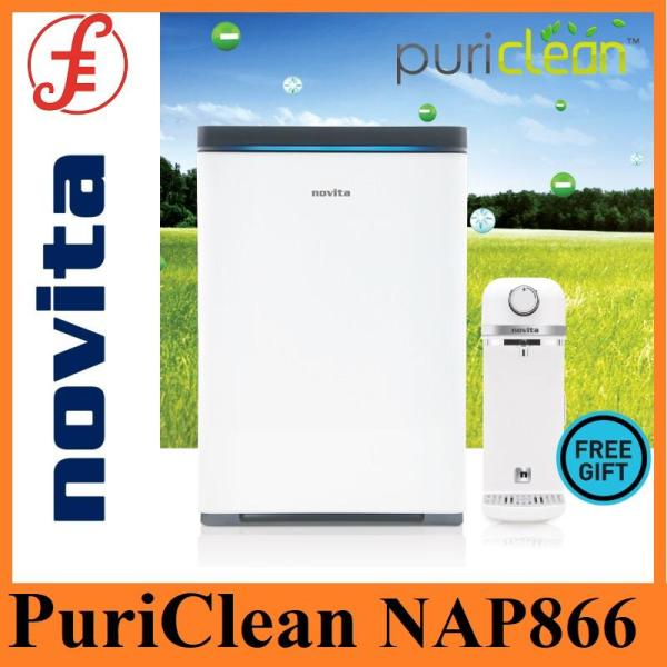 novita PuriClean™ Air Purifier NAP866 with FOC HydroPlus® / HydroPure® Countertop Water Purifier NP330 (without installation) Singapore