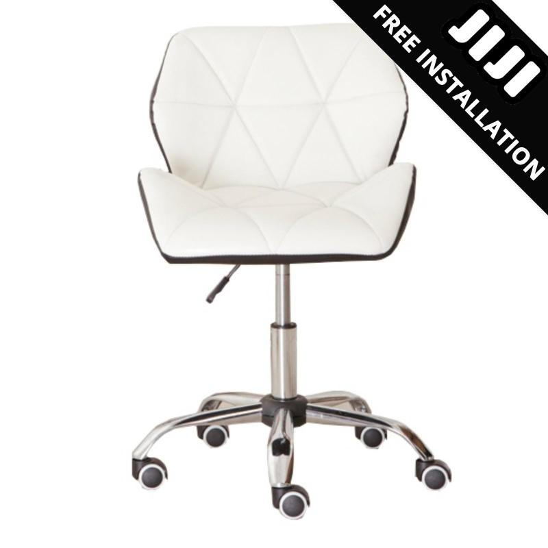 JIJI Office Chair Supervisor Chair Ver 4 (Free Installation) - Office chair/Study chair/Gaming chair/Ergonomic/ Free 12 Months Warranty (SG) Singapore