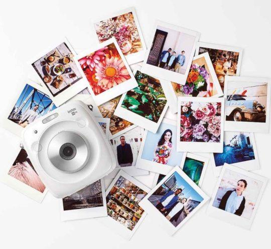 Fujifilm Instax Square Sq10 With Free Instax Square Film 1 Pack By Starz Mode.
