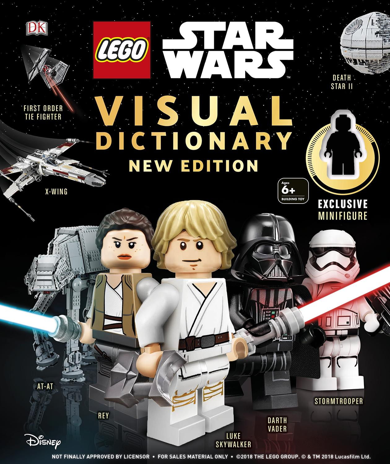 LEGO Star Wars Visual Dictionary New Edition: With exclusive minifigure by DK