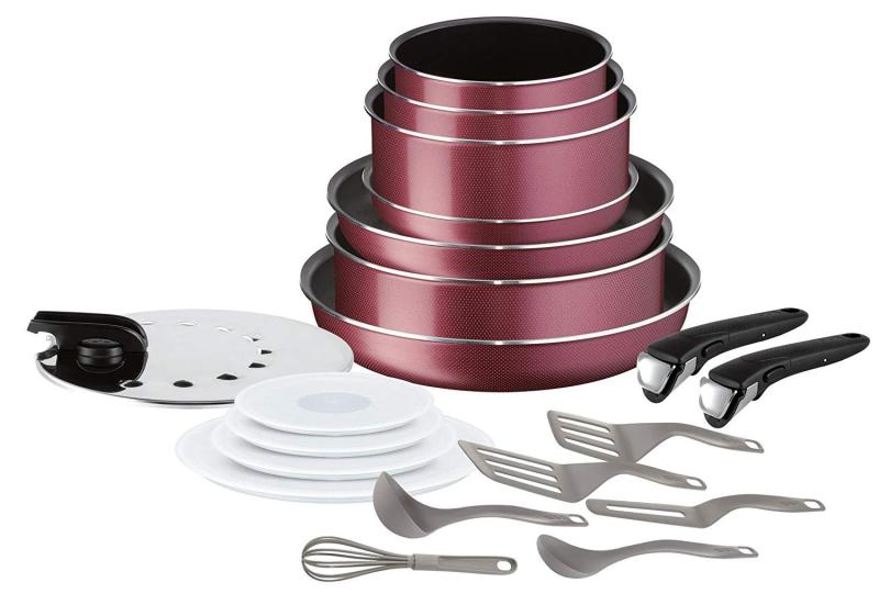 Tefal ingenio essential 20pc limited edition. Red Singapore