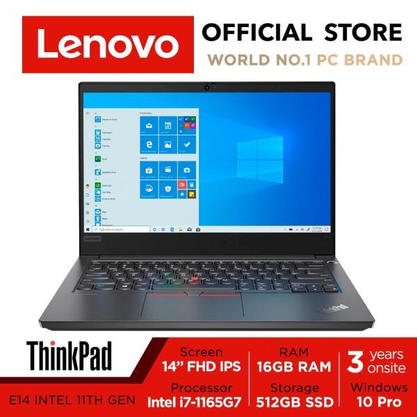 Lenovo ThinkPad E14 | 20TA004ESG | 14inch FHD IPS | i7-1165G7 | 8GB/16GB RAM | 512GB SSD | Win10 Pro | 3Y warranty