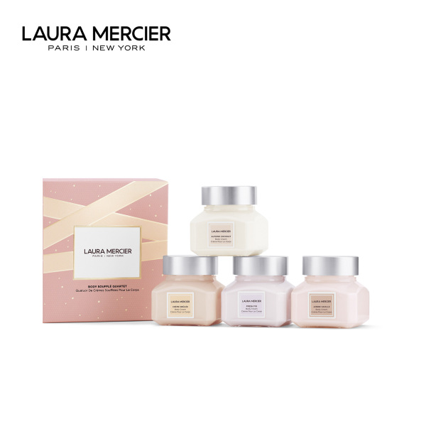 Buy [Holiday Sets] Laura Mercier Mini Body Soufflé Quartet Singapore