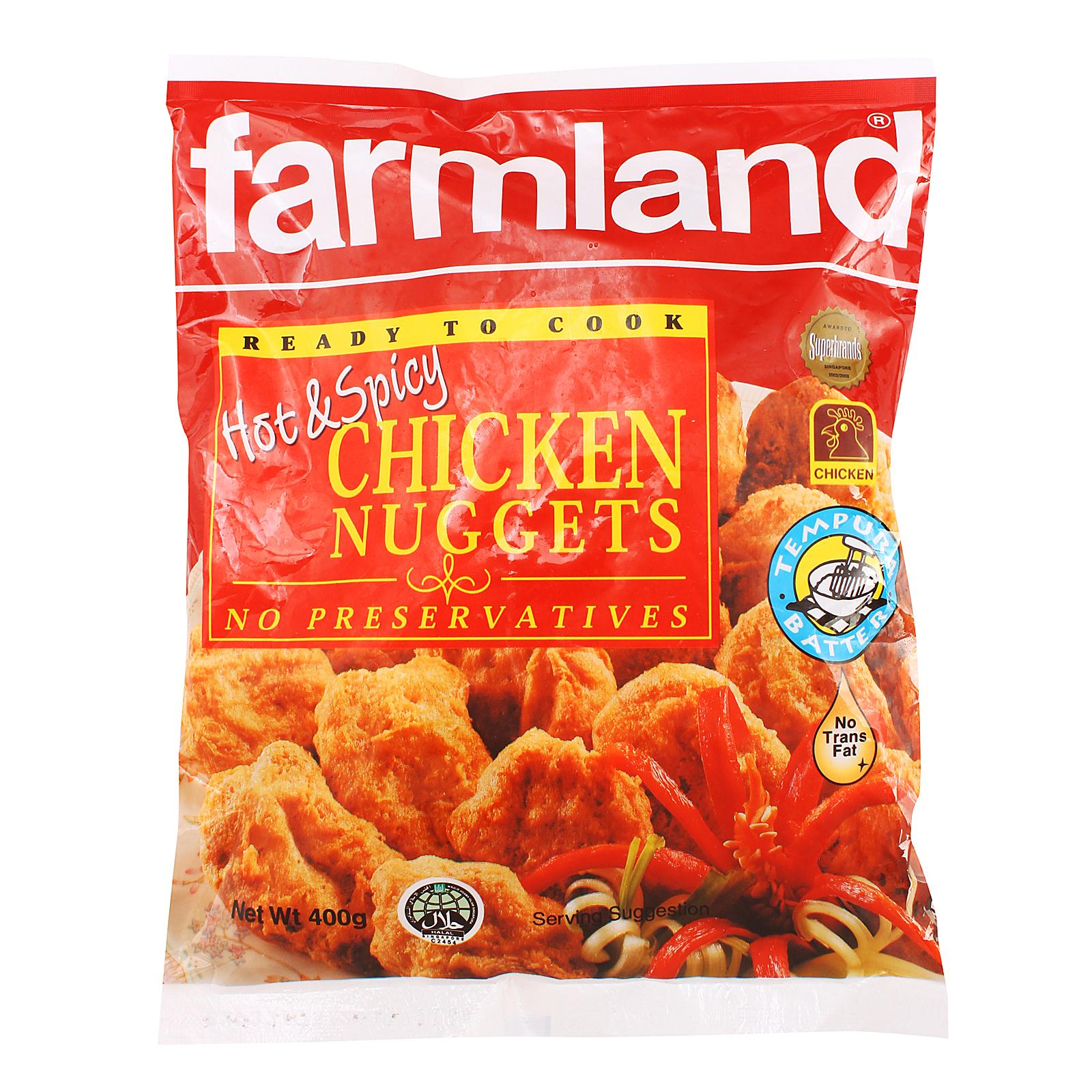 Farmland Hot And Spicy Chicken Nuggets - Frozen
