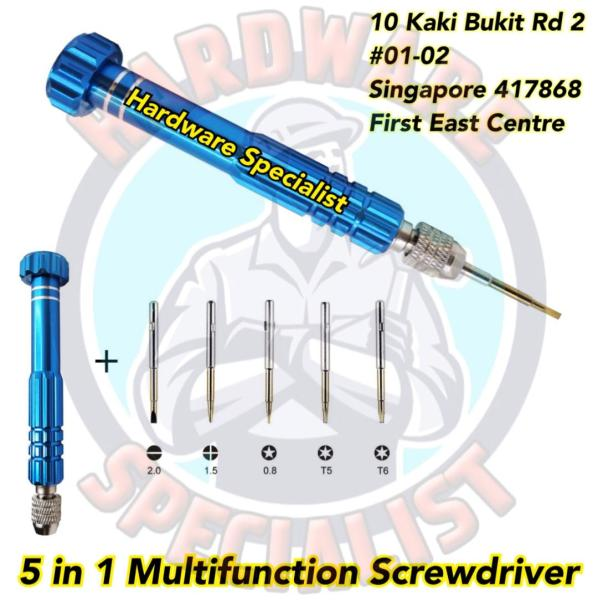 5 In 1 Multifunctional Precision Screwdriver (Iphone Repair Screwdriver)