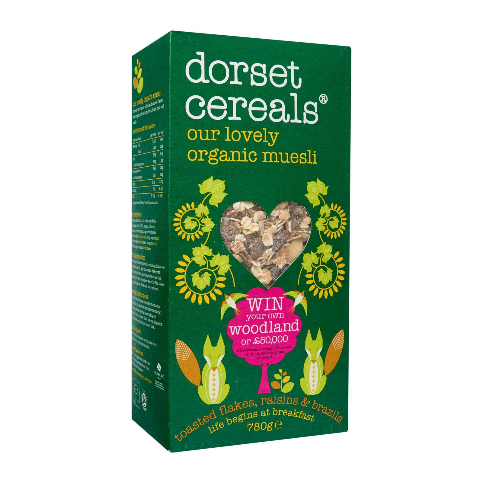 Dorset Cereals Our Lovely Organic Muesli