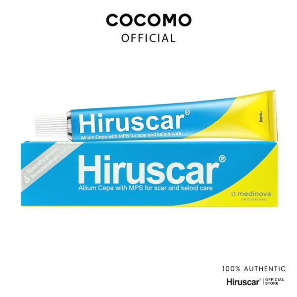 Buy (Hiruscar) Hiruscar Gel 20g | Lighten, Soften, Smoothen Scars - COCOMO Singapore