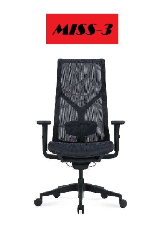 MISS-3 283A HIGH BACK FULL MESH OFFICE CHAIR (FREE DELIVERY, FREE INSTALLATION) 5 YEAR WARRANTY Singapore