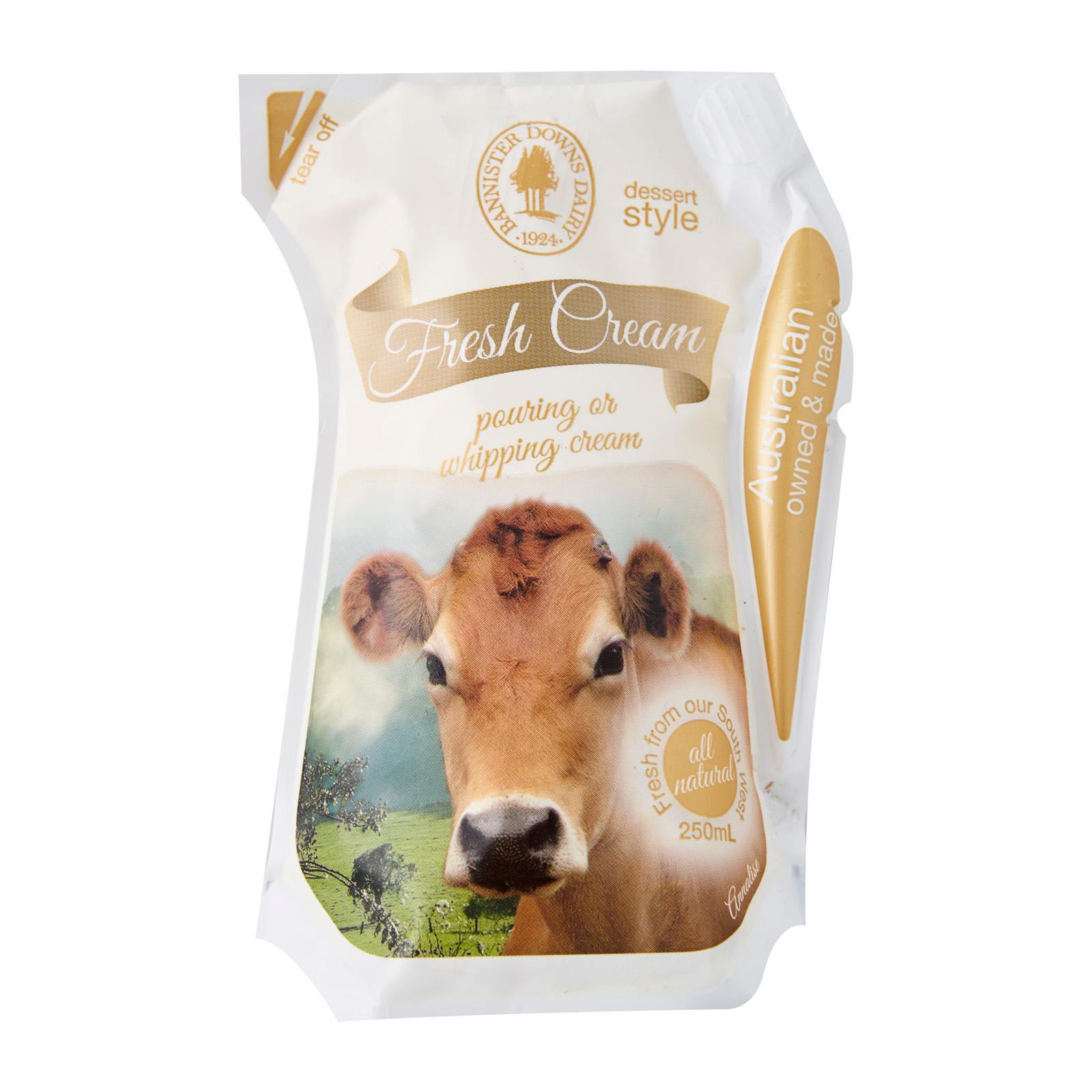 Bannister Downs Fresh Cream - Australia - 250mL