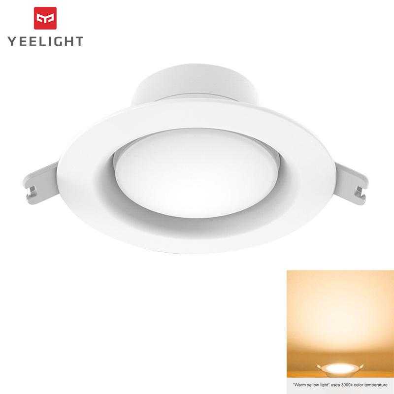 Yeelight 5W LED Downlight Round Ceiling Light WiFi Adjustable Color Temperature