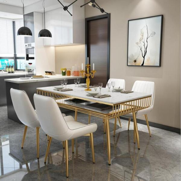 TMDT 09 Marble Dining Table(L140*W70*H76cm)