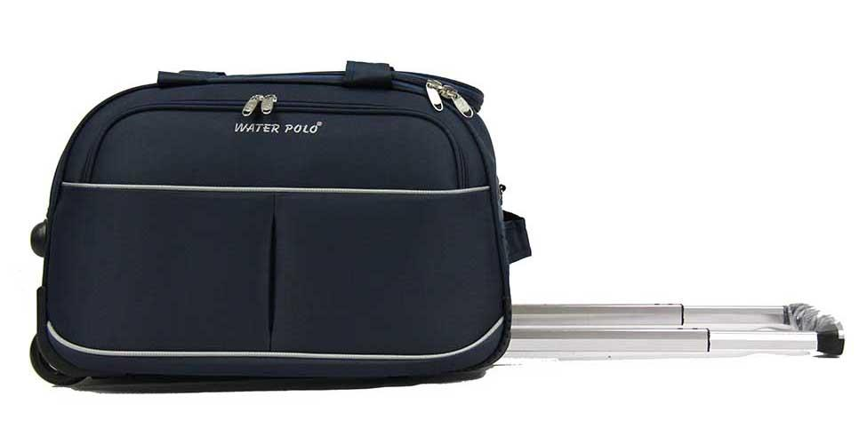 Cabin Size Trolley Duffle Bag with Sling Strap 19 inch