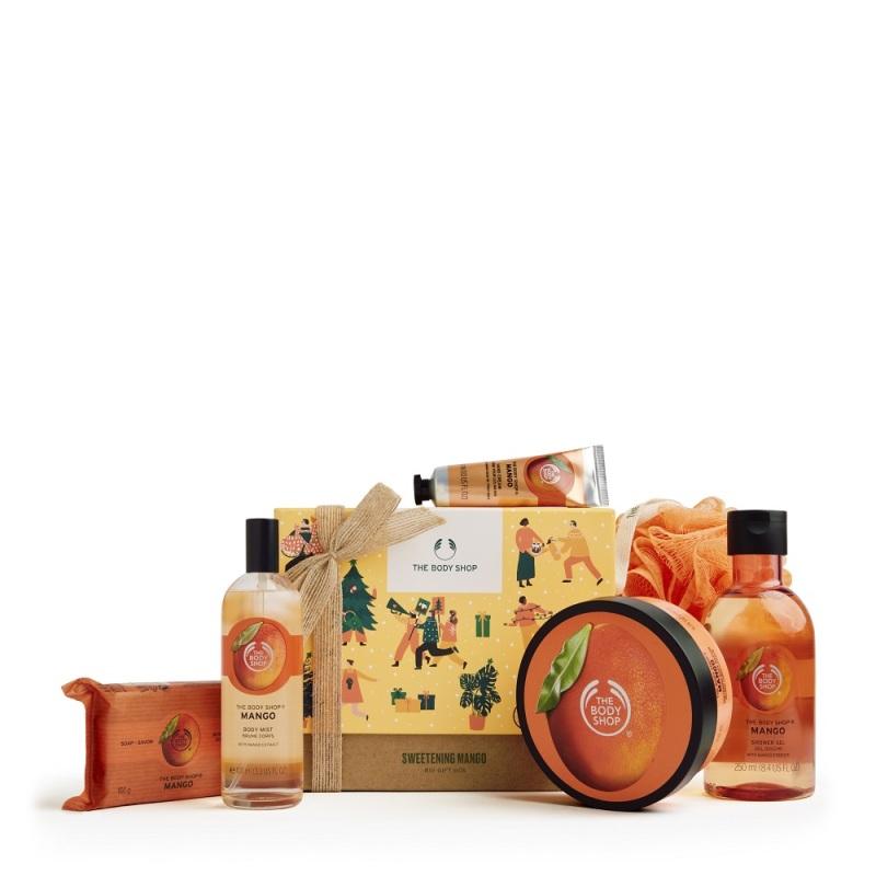 Buy The Body Shop Sweetening Mango Big Gift Box (Limited Edition Set) [EXP: JAN 2023] Singapore