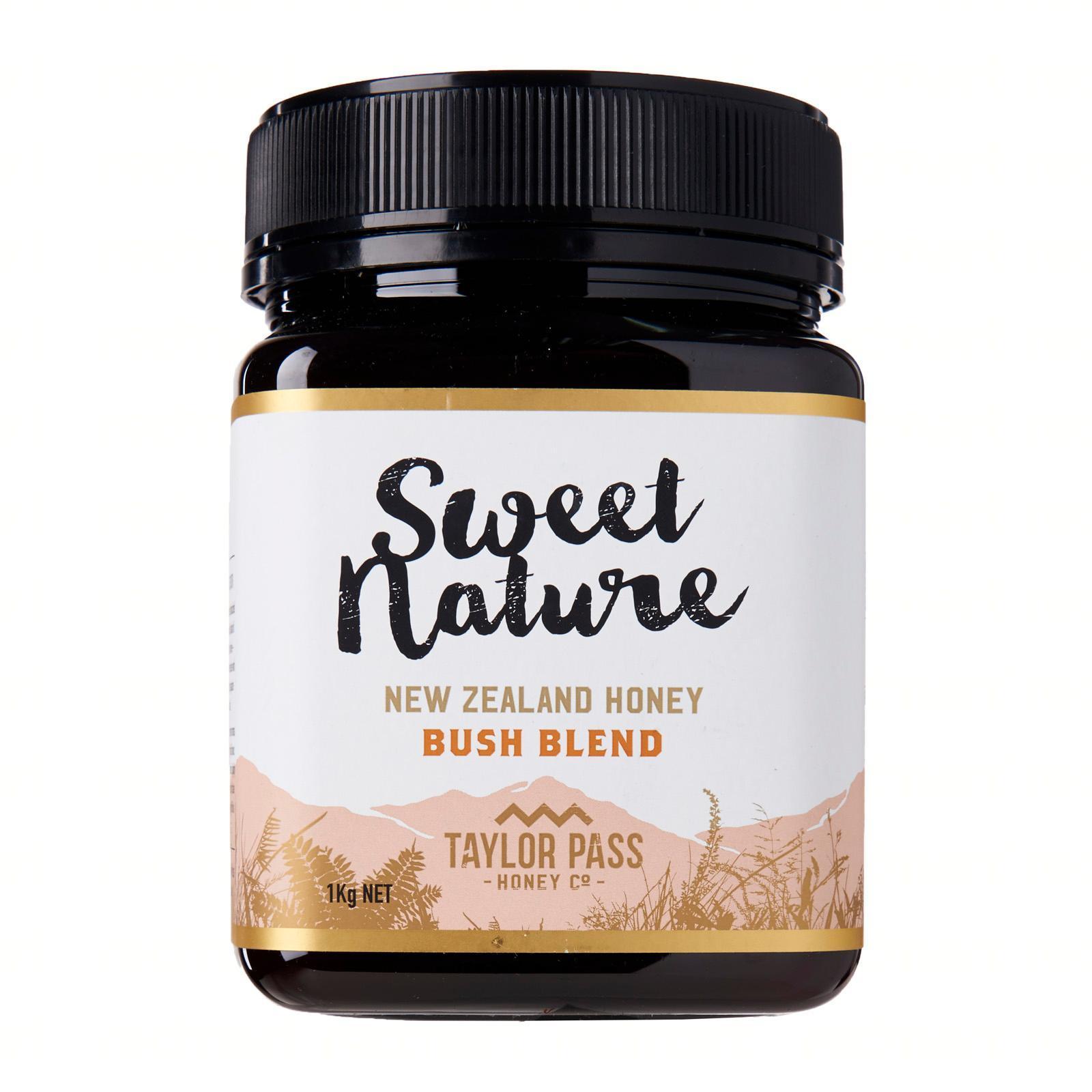 Sweet Nature Bush Blend Honey 1Kg - By Nature's Nutrition