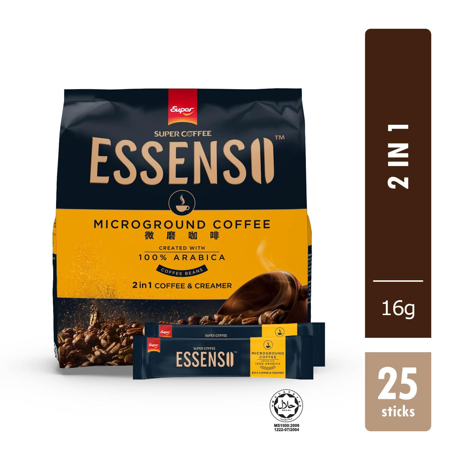Super Essenso MicroGround Coffee - 2 In 1 Coffee And Creamer