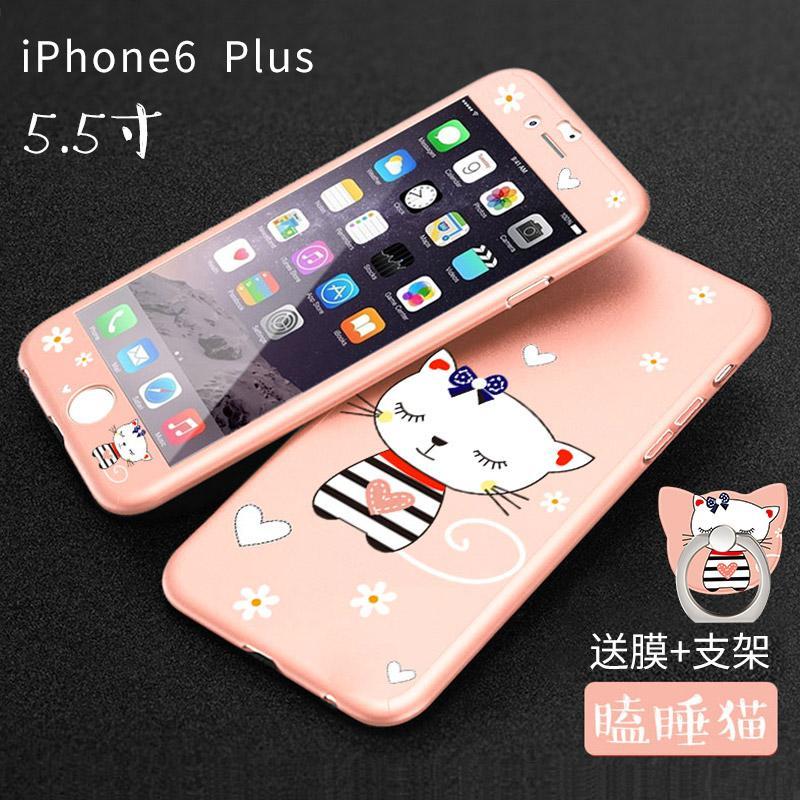 IPHONE 6 Casing HP 6 plus Model Wanita iPhone6 set Bungkus Penuh 6 s anti jatuh i6p Korea Selatan enam Trendi Baur kepribadian
