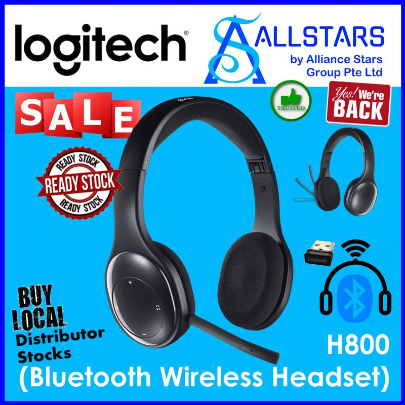 (ALLSTARS : We are Back / Conference Promo) Logitech H800 Bluetooth Wireless Headset (981-000503) (Warranty 2years with Local Distributor BanLeong) Singapore