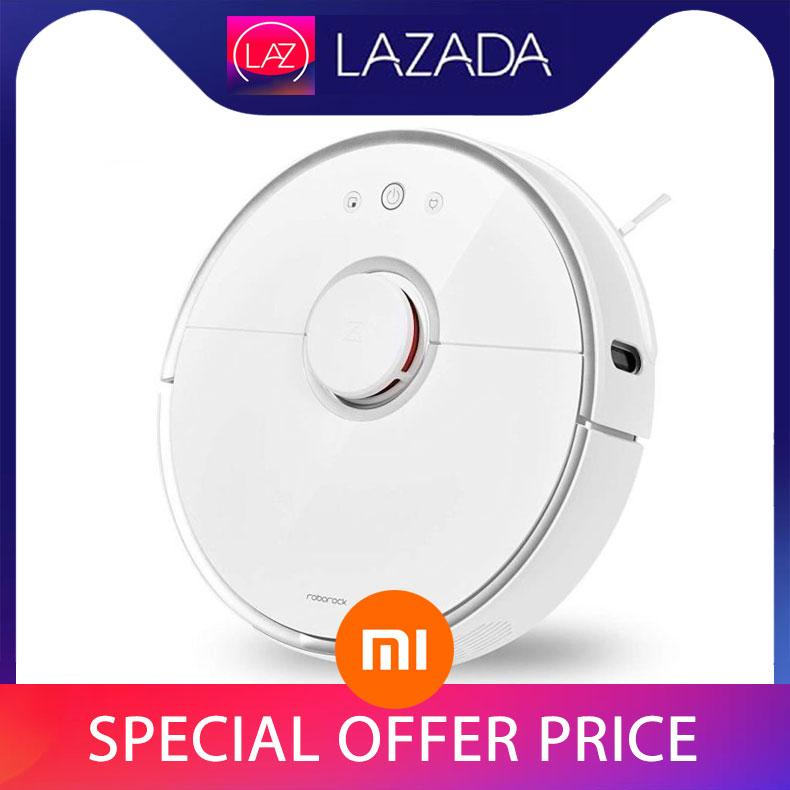 2019 New Xiaomi Roborock S5 Robotic Vacuum Cleaner Mijia Robot International English Voice Assistance ( Pre-Order ) By Esther Store.