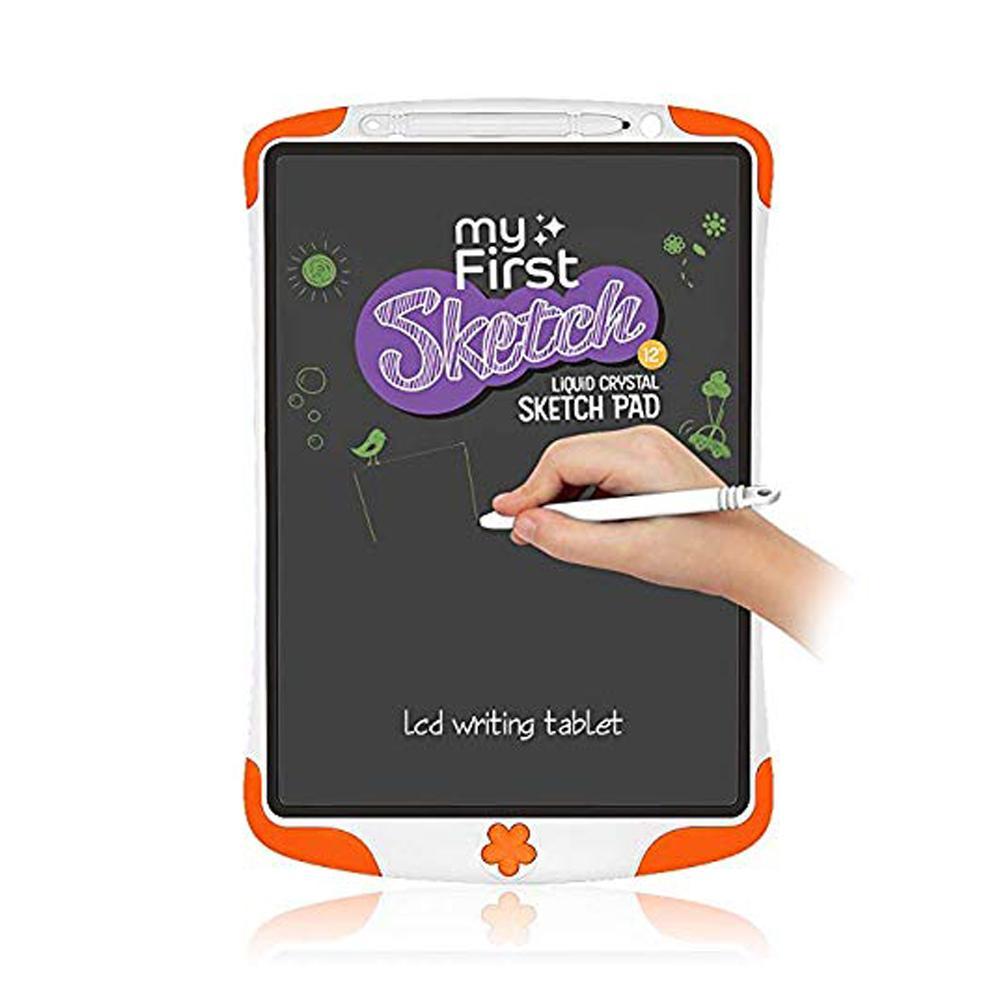 Oaxis Myfirst Sketch 12 Liquid Crystal Sketch Pad Fs1201Sa-Oe01 Orange