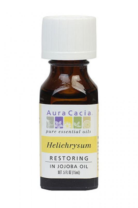 Buy Aura Cacia Helichrysum (Immortelle) Essential Oil Blend (15ml) Singapore