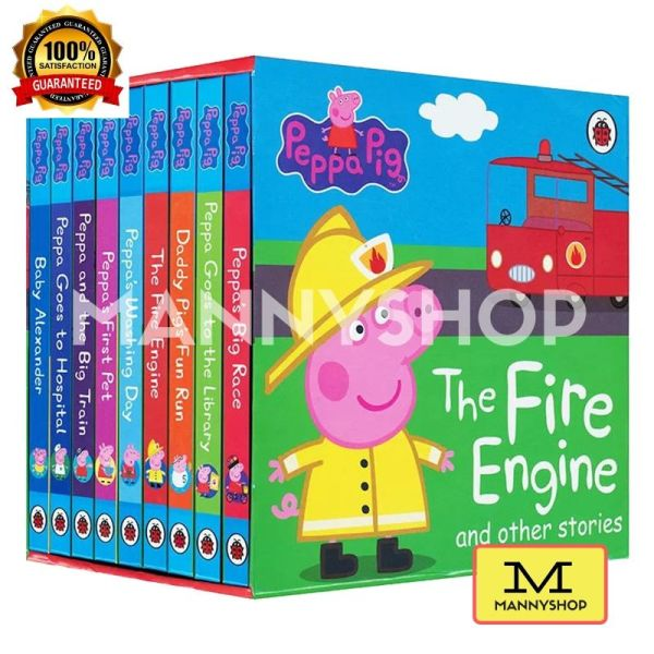 [SG] Peppa Pig The Fire Engine and Other Stories Book (9 Books)