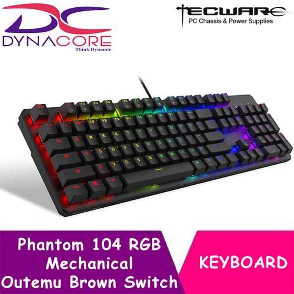 DYNACORE - Tecware Phantom 104 RGB Mechanical Keyboard (3 Switch Options)