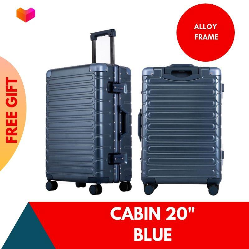 2019 New Aluminium Alloy Frame Travel Luggage case with TSA Lock Anti Theft Scratch Hard Case / Cabin Size Suitcase Trolley Bag /20 inch 29 inch