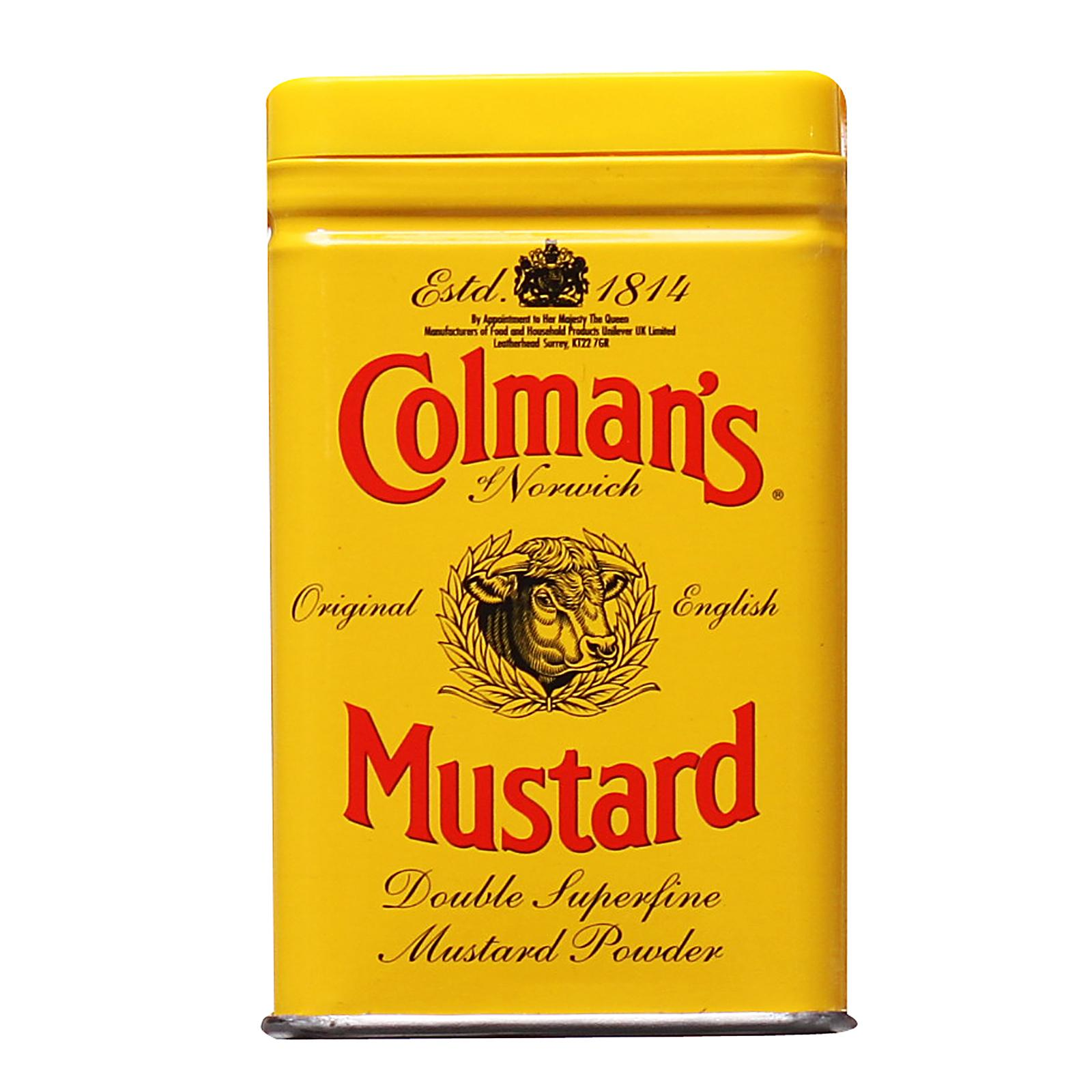 Colmans Double Superfine Mustard Powder By Redmart.