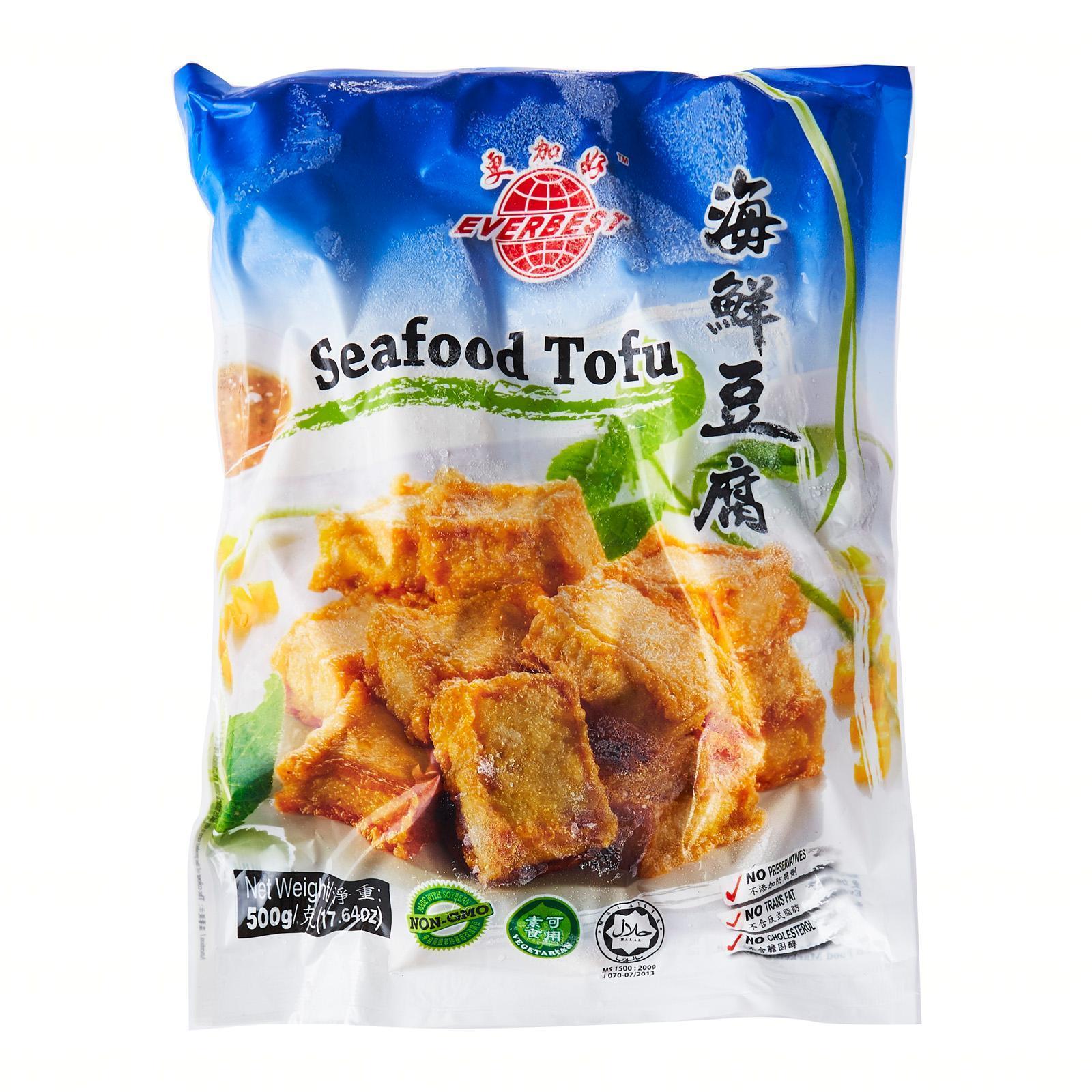 EB Vegetarian Seafood Tofu - Frozen