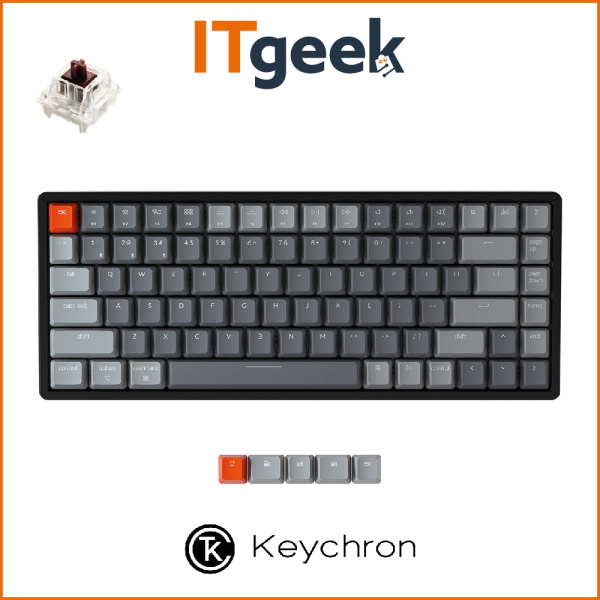 (PRE-ORDER) Keychron K2 RGB Aluminum Frame Hot-swappable Wireless Mechanical Keyboard (Version 2)