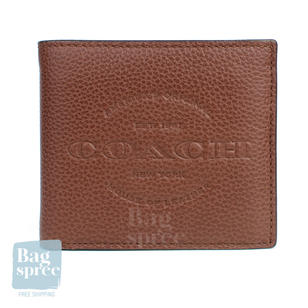 [Authentic & Brand New] Coach 3-In-1 / Compact ID / Double Billfold / ID Billfold / Slim Billfold Wallet for Men [Gift Receipt Provided] [COACHMEN]