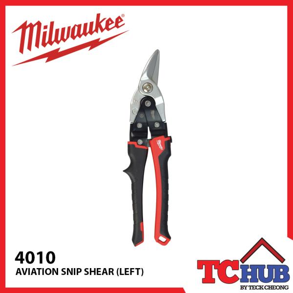 Milwaukee 4010 Aviation Snips (Left)