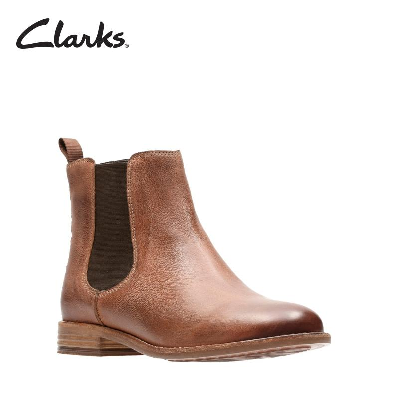 Clarks Maypearl Nala Dark Tan Womens Casual Boots Clarks Artisan By Clarks Official Store.
