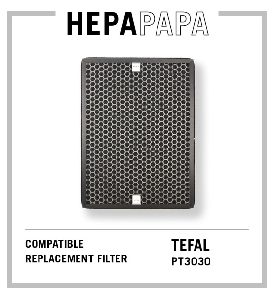 Tefal PT3030 Air Purifier Compatible Replacement Filter [HEPAPAPA] Singapore