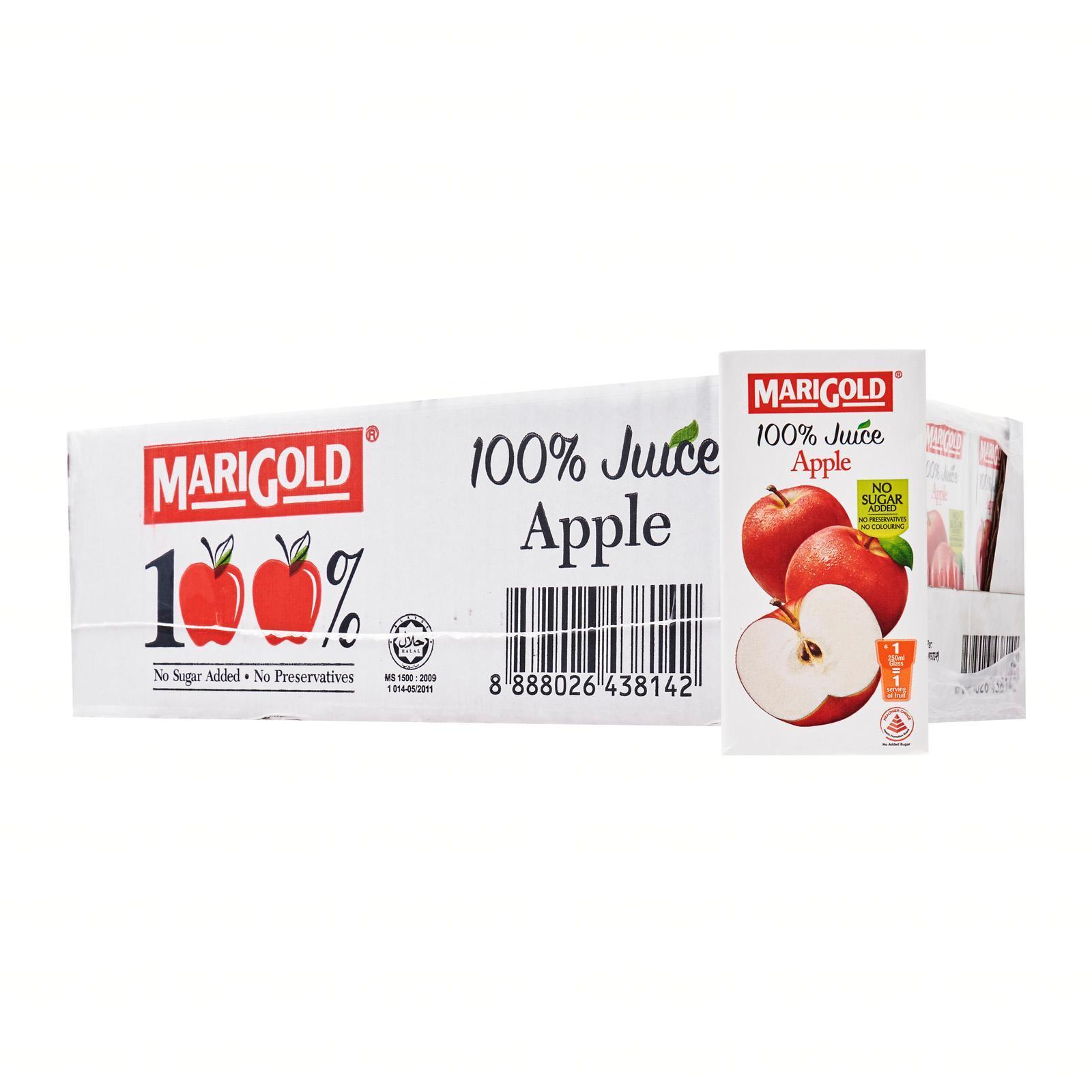 MARIGOLD 100% Apple Juice-Case