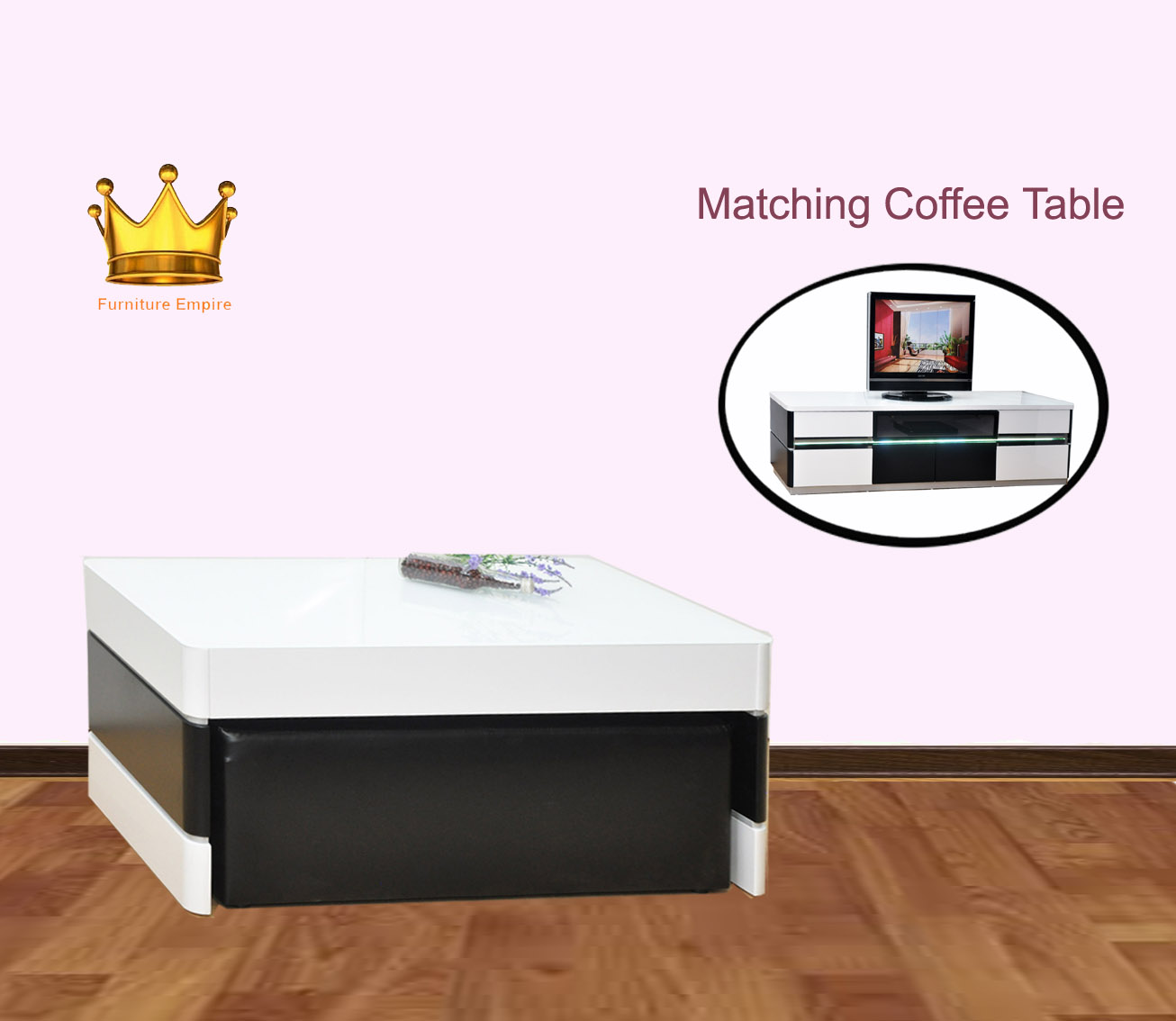 Castro Coffee Table ★ Sofa Set★Side Table★ Living Room Furniture★Organizer ★Table★TV Console