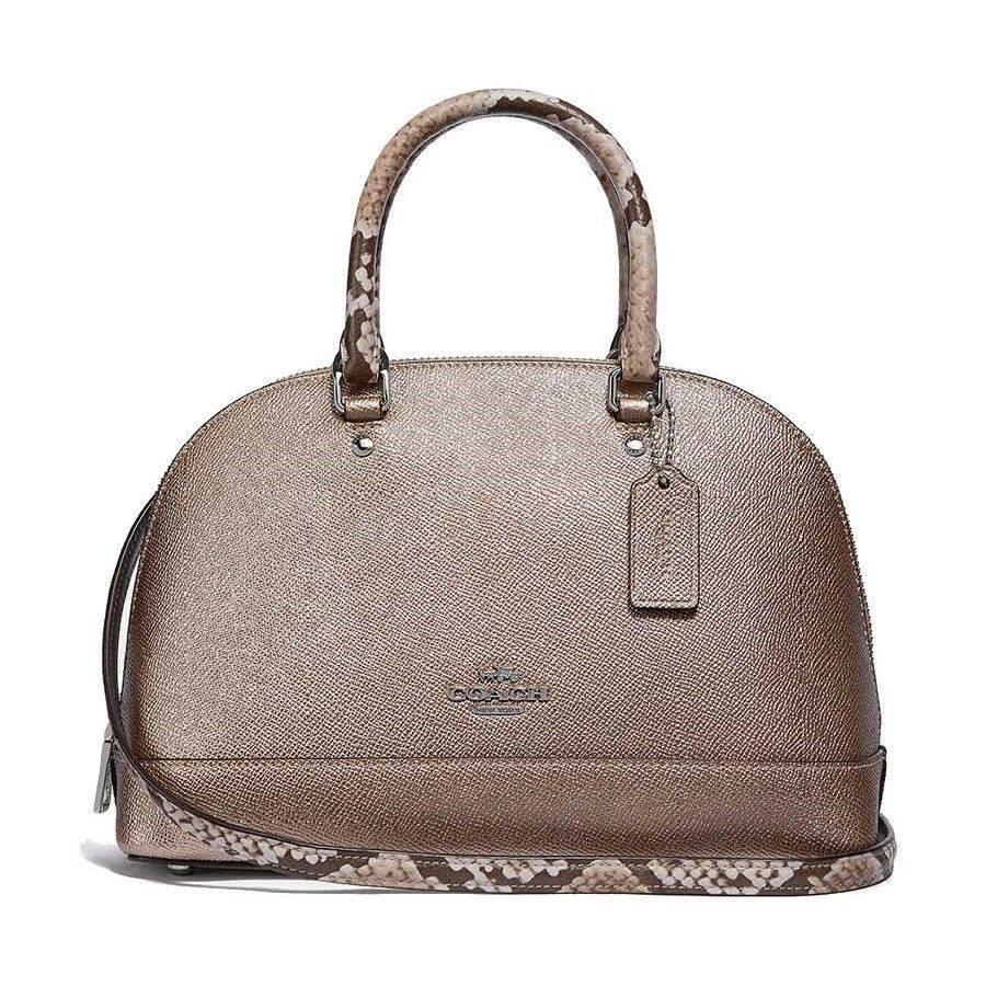 abbe58f75ad6a Authentic Coach F38057 Mini Sierra Crossbody/ Top-handle Satchel with Gift  receipt